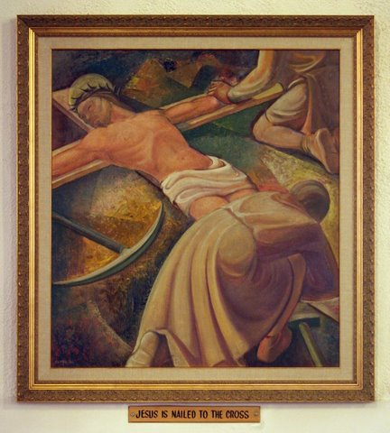 Eleventh Station of the Cross