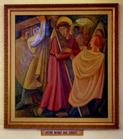 2nd Station of the Cross