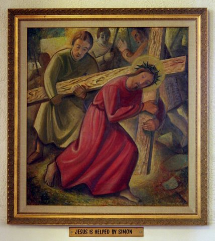 Fifth Station of the Cross