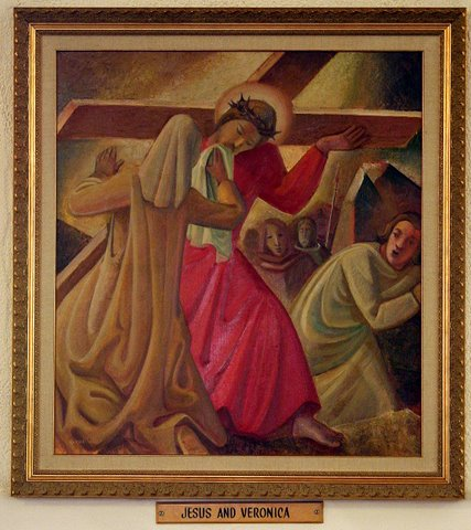 Sixth Station of the Cross