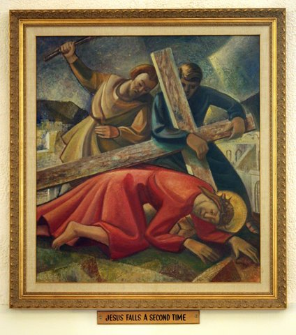 Seventh Station of the Cross