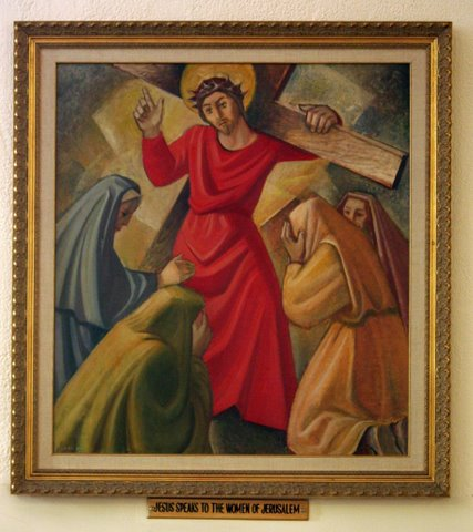 Eighth Station of the Cross