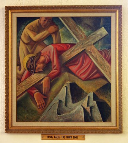 Ninth Station of the Cross